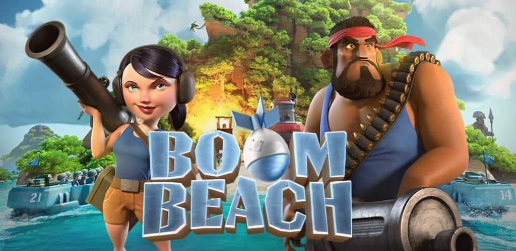 دانلود آپدیت جدید بوم بیچ - Boom Beach 42.37