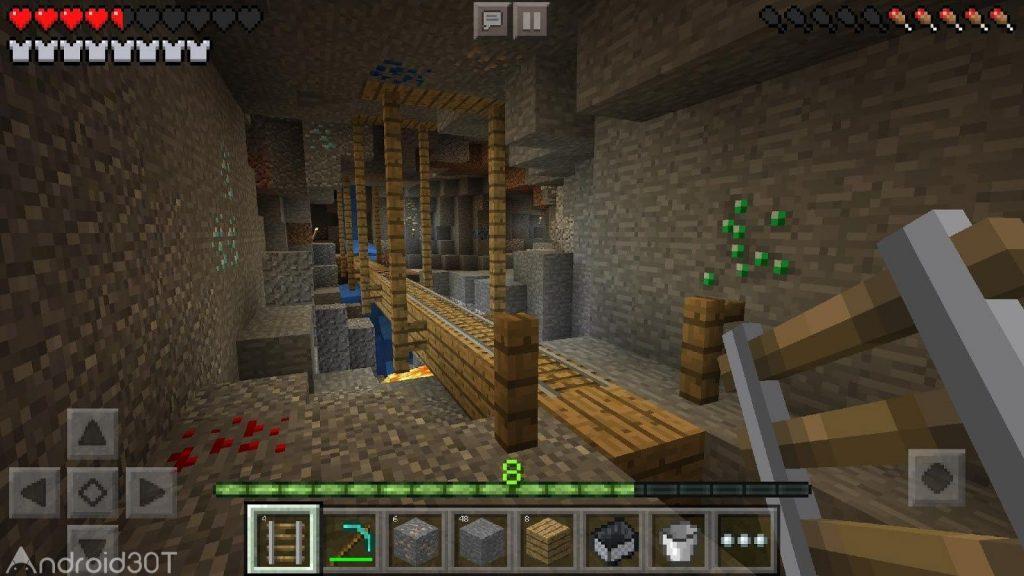 دانلود بازی ماینکرافت Minecraft 1.17.40.21 آخرین ورژن اندروید