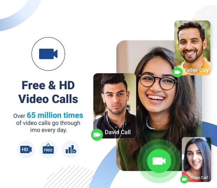 دانلود آخرین نسخه ایمو اندروید imo messenger 2020.11.1031 تماس تصویری