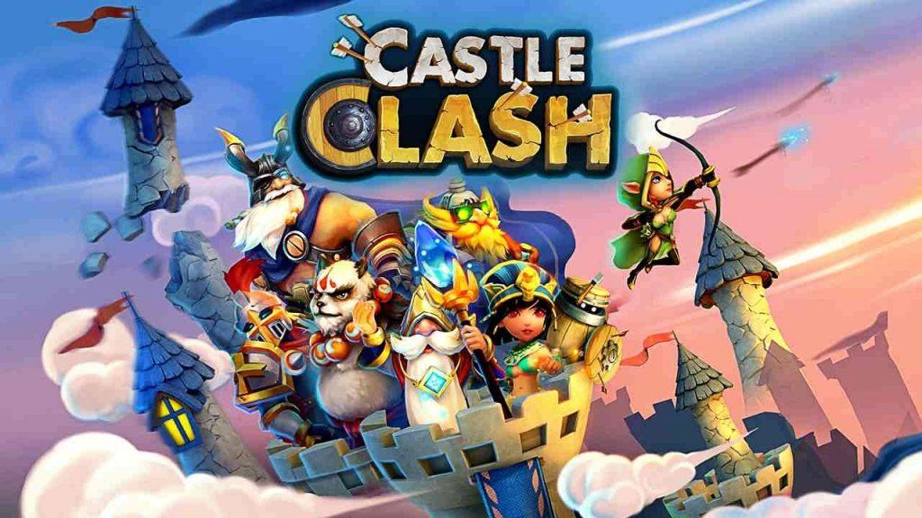 دانلود بازی کستل کلش اندروید Castle Clash 1.7.72