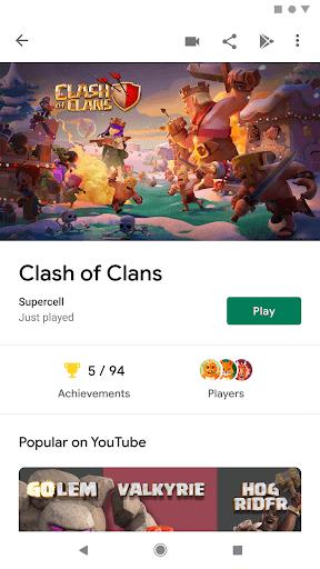 دانلود گوگل پلی گیمز اندروید آپدیت جدید Google Play Games 2020.10.22037