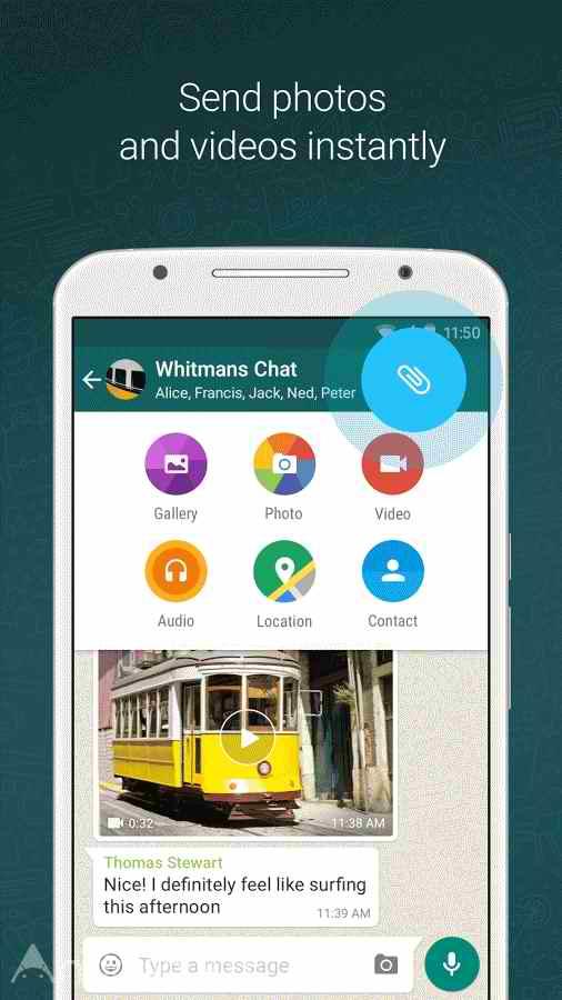 دانلود واتساپ اصلی جدید اندروید / کامپیوتر - WhatsApp 2.20.197.11
