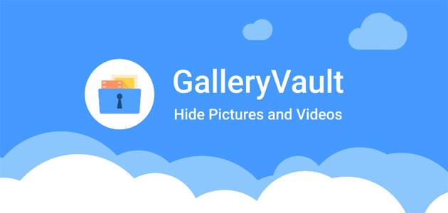 دانلود مخفی ساز فایل برای اندروید Gallery Vault 6.9.08.22