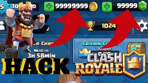 دانلود کلش رویال هک شده Clash Royale Hack 2020