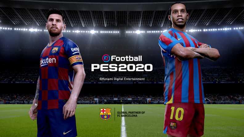 دانلود بازی فوتبال پی اس eFootball PES 2021 5.0.1