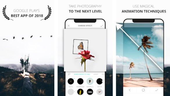 دانلود برنامه ساخت عکس زنده 3.1.0.8  VIMAGE Cinemagraph Animator & Live Photo رایگان برای اندروید