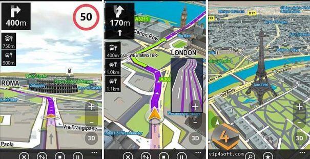 دانلود سایجیک مسیریاب آفلاین GPS Navigation & Maps Sygic Full 18.7.4 برای اندروید