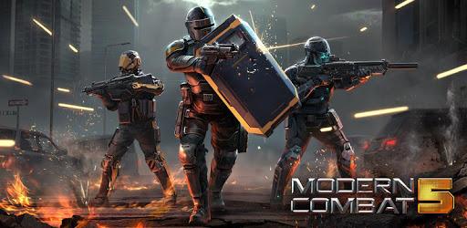 دانلود بازی کامبت 5 مدرن Modern Combat 5 eSports FPS v4.4.3j به همراه مود