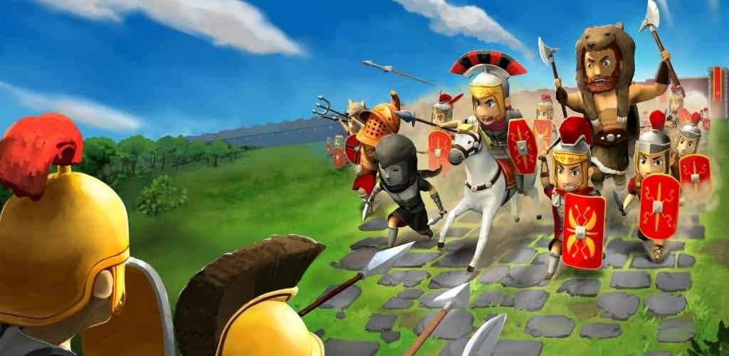 دانلود بازی امپراطوری روم Grow Empire: Rome 1.4.43 برای اندروید +نسخه مود