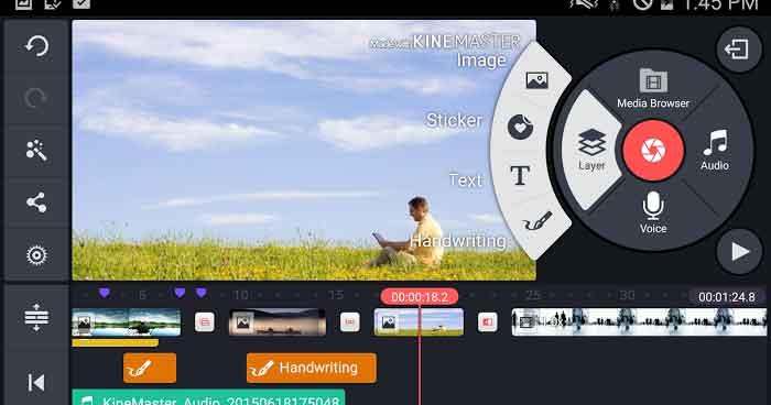دانلود کاین مستر ویرایشگر ویدئو حرفه ای KineMaster Pro 5.0.1.20940.GP برای اندروید