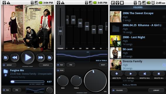 دانلود پلیر پاور ای ام پی Poweramp Music Player 3 Full برای اندروید
