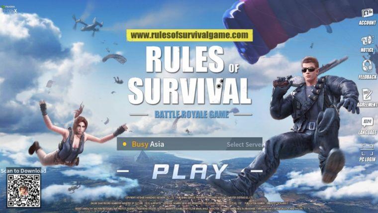 دانلود بازی قوانین بقا RULES OF SURVIVAL 1.610145.462389 برای اندروید