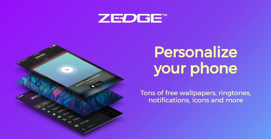دانلود برنامه ZEDGE 6.8.4 پس زمینه و آهنگ زنگ برای اندروید