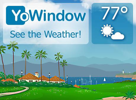 دانلود برنامه هواشناسی YoWindow Weather برای اندروید