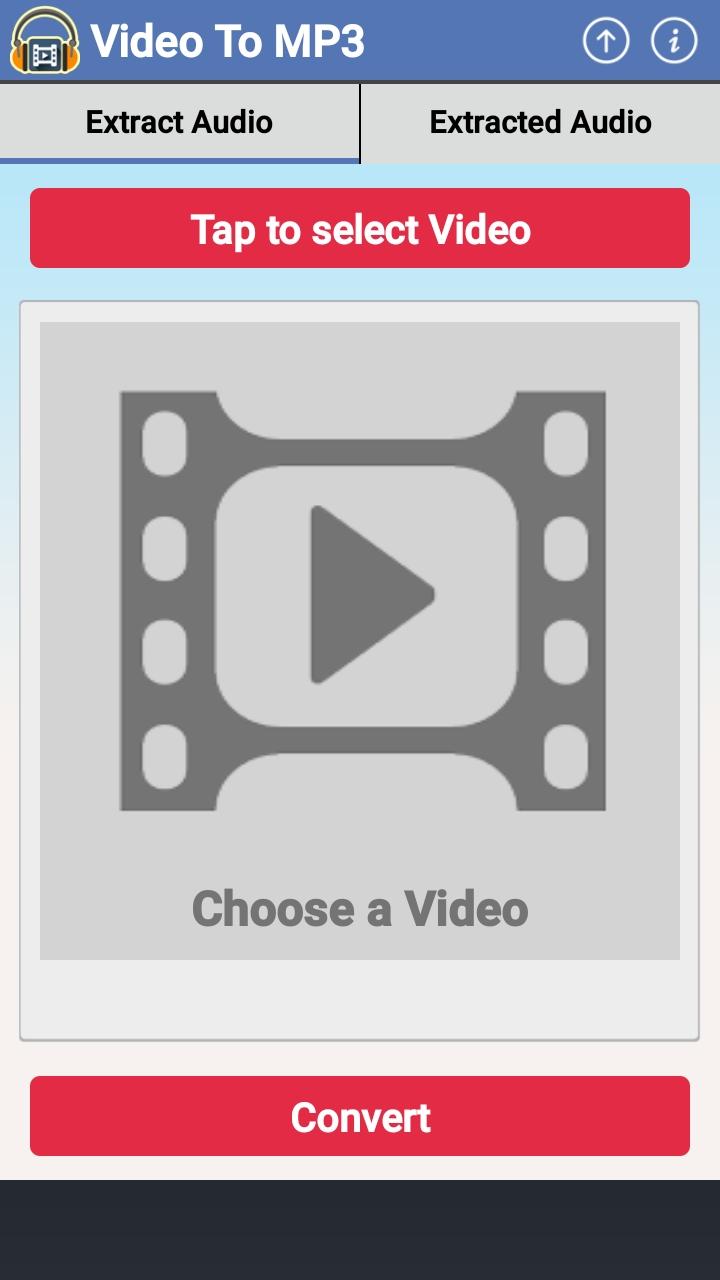 دانلود Video MP3 Converter Cut Music برنامه جدا کردن صدا از فیلم اندروید