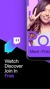 دانلود توییچ 10.6.0 Twitch برنامه شبکه اجتماعی مشاهده تریلر بازی برای اندروید