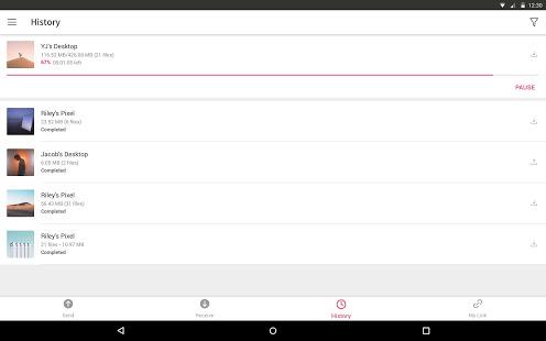 دانلود سند انی ور 21.6.3 Send Anywhere برنامه ارسال فایل اندروید