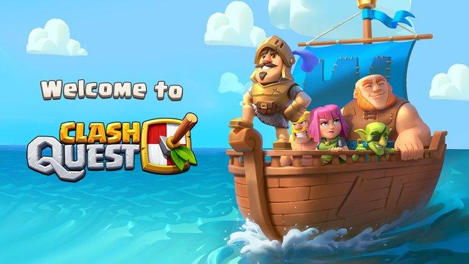 دانلود بازی کلش کوئست 0.175.98 Clash Quest برای اندروید