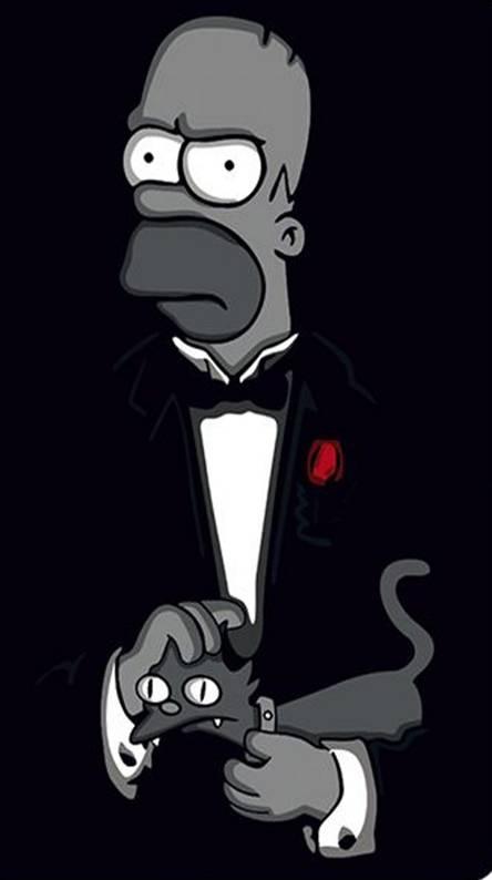 دانلود تصاویر پس زمینه سیمپسون ها simpsons برای موبایل
