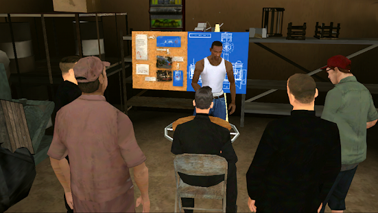 دانلود بازی جی تی ای 5 سن اندرس 2.00 GTA San Andreas اندروید