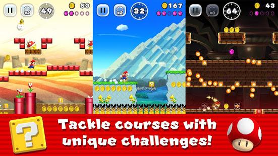 دانلود بازی قارچ خور سوپر ماریو 3.0.22 Super Mario Run اندروید